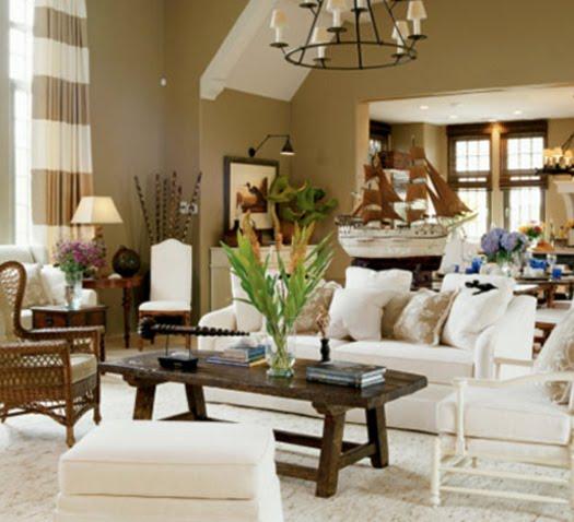Nantucket Home Decor: French Eclectic Interior Design