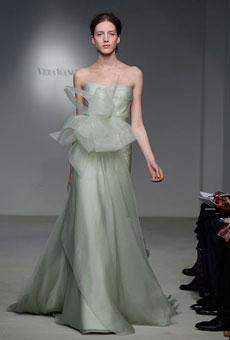 fee07bad6e450 Vera Wang – Spring 2012, via Brides.com