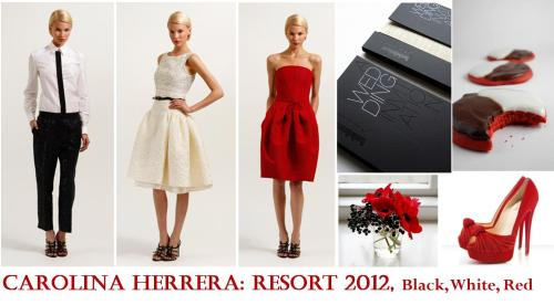 Images: Carolina Herrera, Oh So Beautiful Paper, The Velveteen Baker, Constanca Cabral, Christian Louboutin