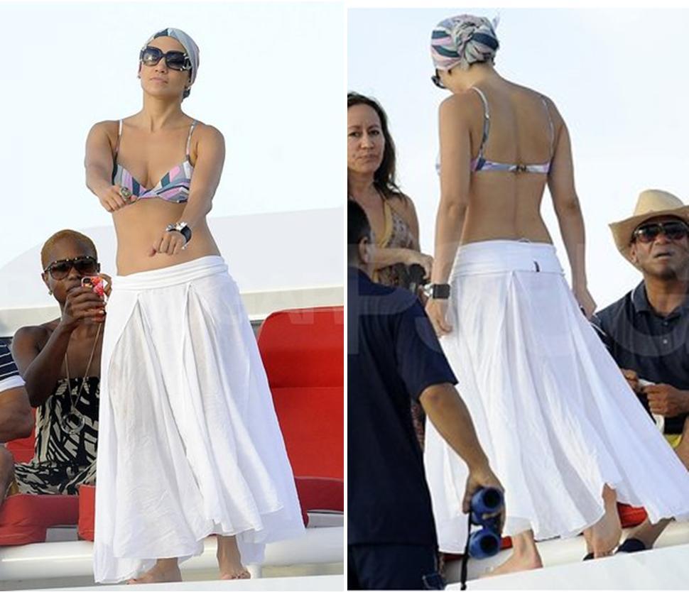 Jennifer Lopez's Miami Style
