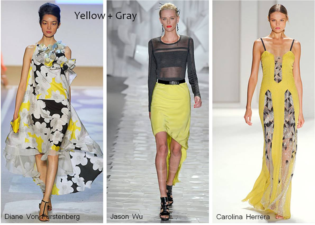 Yellow + Gray, Spring 2012