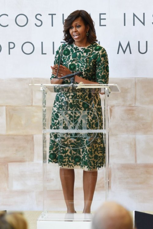 FLOTUS Michelle Obama at the Met